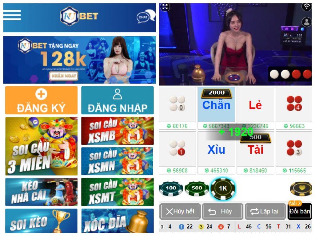 Các bước thực hiện tải app Ku Casino cho hệ điều hành Android được thực hiện rất đơn giản.
